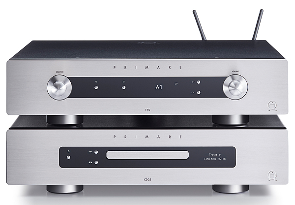 Primare Cd35 I35 Prisma Network Cd Player Amp Amp Hi Fi News
