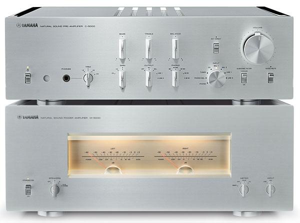 Yamaha C-5000/M-5000 Pre/Power Amplifier