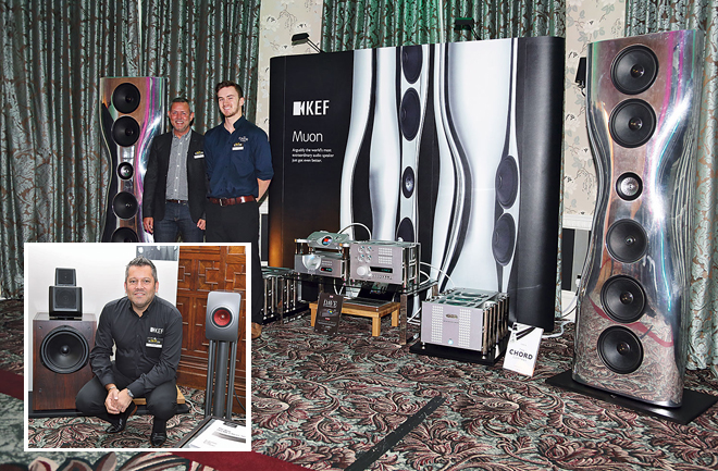 kef muon speakers. kef showed the latest version of its muon flagship speaker, driven by chord electronics\u0027 cpa 8000 reference preamp and spm 14000 mkii mono power kef speakers k